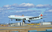 C-GFAH @ CYYZ - Air Canada Airbus A330 arriving on runway 33L at Toronto Pearson Int'l Airport - by 716 Photography