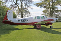 D-EKNA @ X5FB - Mooney M20F Executive at Fishburn Airfield UK. April 23rd 2017. - by Malcolm Clarke