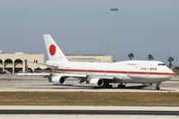 20-1101 @ LMML - B747-400 20-1101 Japan Air Self Defence Force - by Raymond Zammit