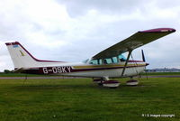 G-OSKY @ EGBW - G-OSKY seen in it`s new colours at Wellesbourne Mountford Airfield. - by Robbo s