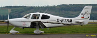 D-ETRM @ EGPN - Visiting Dundee Riverside Airport EGPN - by Clive Pattle