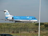 PH-WXD @ EHAM - KLM FOKKER OVER QUEBEC - by fink123