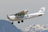 C-GJYY @ CYPK - Landing - by Guy Pambrun