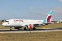D-ABNE @ LMML - A320 D-ABNE Eurowings - by Raymond Zammit