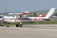 G-BNJC @ EGKA - Previously N4705B. Owned by Stapleford Flying Club Ltd. - by Glyn Charles Jones