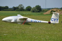 G-DCYT @ X3TB - About to be towed at Tibenham.