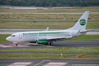 D-ABLA @ EDDL - Boeing 737-76J(W) - ST GMI Germania - 36114 - D-ABLA - 27.07.2016 - DUS - by Ralf Winter