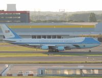 92-9000 @ EBBR - air force one at brussel - by fink123