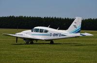 G-BMFD @ EGLM - PA-23-250 Aztec F at White Waltham. - by moxy