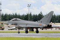 C16-56 @ LFOA - Spanish Air Force Eurofighter EF-2000 Typhoon S, Taxiing to flight line, Avord Air Base 702 (LFOA) Open day 2016 - by Yves-Q