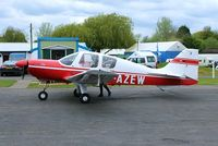 G-AZEW @ EGBO - @ the Radial&Trainers Fly-In Wolverhampton(Halfpenny Green)Airport. - by Paul Massey