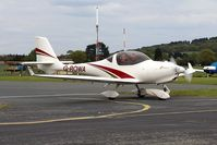 G-ROWA @ EGBO - @ the Radial&Trainers Fly-In Wolverhampton(Halfpenny Green)Airport. - by Paul Massey