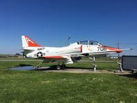 152861 @ CGI - 152861 (A-706), Douglas TA-4J Skyhawk, c/n: 13507 - by Timothy Aanerud