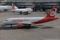 D-ASTX @ EDDL - Airbus A319-112 - ST GMI Germania opf Air Berlin Air Berlin livery - 3202 - D-ASTX - 26.05.2015 - DUS - by Ralf Winter