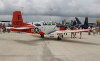 161055 @ TIX - T-34C - by Florida Metal