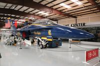 161943 @ CNO - Blue Angels F-18A - by Florida Metal