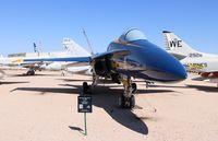 163093 @ DMA - F/A-18A Blue Angels - by Florida Metal