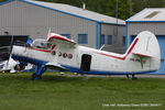 HA-MKF @ EGBO - at the Radial & Trainer fly-in - by Chris Hall