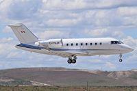 C-FSJR @ KBOI - Landing RWY 28R. - by Gerald Howard
