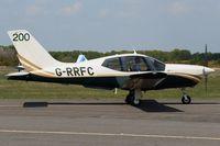 G-RRFC @ EGLK - Previously F-OILV. Sporting '200'. Taxiing along towards runway 25. - by Glyn Charles Jones