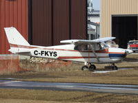 C-FKYS @ CZVL - Villeneuve - Cessna 172 - see Transport Canada web link for details - by DaveP
