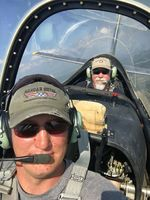 N28RE @ BKD - Flying in the back seat with Andrew Kiest over Breckenridge, TX