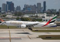 A6-EWG @ FLL - Emirates - by Florida Metal