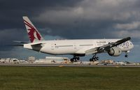 A7-BAA @ MIA - Qatar One World