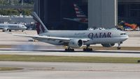 A7-BBE @ MIA - Qatar - by Florida Metal