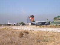 16803 @ LPMT - The main ramp, the SQN 502 hangar and the control tower. - by Nuno Filipe Lé Freitas