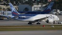 CC-BBA @ MIA - LAN 787-8 - by Florida Metal