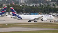 CC-BGE @ MIA - LATAM 787-9 - by Florida Metal