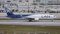 CC-CXG @ MIA - LAN 767-300 - by Florida Metal