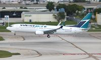 C-FBWI @ FLL - West Jet - by Florida Metal