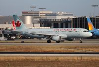 C-FFWJ @ LAX - Air Canada - by Florida Metal
