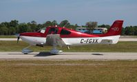 C-FGXK @ LAL - Cirrus SR20 - by Florida Metal