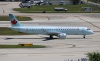 C-FHIU @ FLL - Air Canada - by Florida Metal