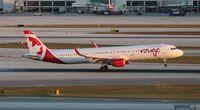 C-FJQH @ MIA - Air Canada - by Florida Metal