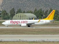 TC-AAO @ LTFE - Pegasus Airlines take off to Milan - by Jean Goubet-FRENCHSKY
