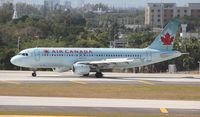 C-FPDN @ FLL - Air Canada - by Florida Metal