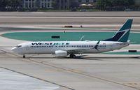 C-FRWA @ KLAS - Boeing 737-800 - by Mark Pasqualino