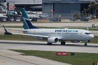 C-FWSE @ FLL - West Jet