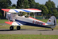 D-EBVV @ EBAW - 26th Stampe fly in. - by Raymond De Clercq