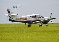 N928HW @ EGTB - Rockwell Commander 114-B at Wycombe Air Park. - by moxy