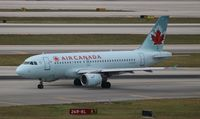 C-FYJI @ MIA - Air Canada - by Florida Metal