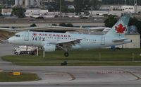 C-GBIK @ FLL - Air Canada - by Florida Metal