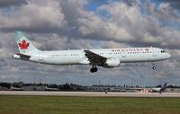 C-GJVX @ MIA - Air Canada - by Florida Metal