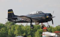 C-GKOL @ LAL - T-28C - by Florida Metal