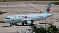 C-GPWG @ FLL - Air Canada - by Florida Metal