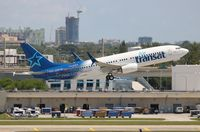 C-GTQC @ FLL - Air Transat - by Florida Metal